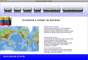 Localización en JavaFX - Español Venezuela